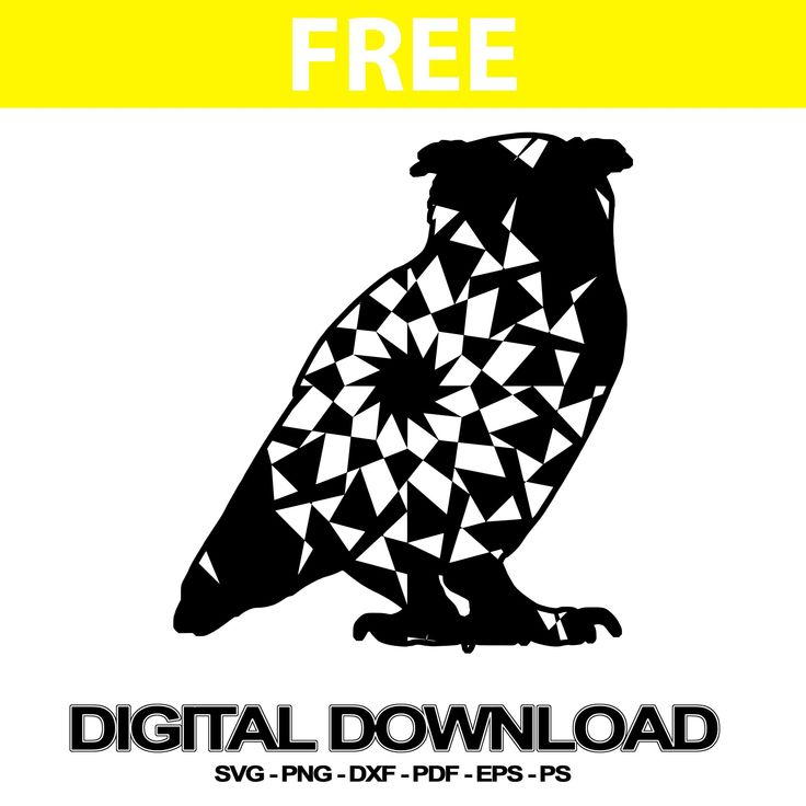 Owl Svg Free Mandala Clipart | Svg Free | Free svg, Svg ...