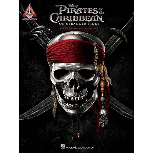 Hal Leonard Pirates Of The Caribbean - On Stranger Tides (Featuring Rodrigo Y Gabriela) Guitar Tab S @ niftywarehouse.com #NiftyWarehouse #PiratesOfTheCarribbean #Pirates #Movies #Pirate