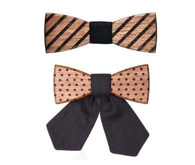 Træ accessories sæt Buteo & Fora håndlavet af BeWooden | BeWooden Danmark