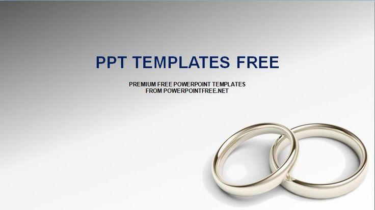 22 best wedding templates images on pinterest wedding templates wedding rings powerpoint template free ppt templates toneelgroepblik Gallery