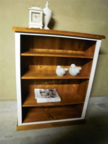 French Country Beach House Hamptons 1/2 Library Office Bookcase Childrens