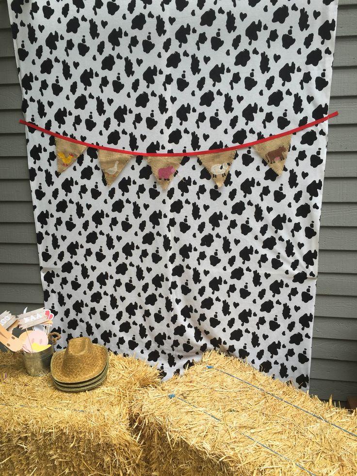 Farm Party, Farm Theme Photo Booth, Farm Backdrop