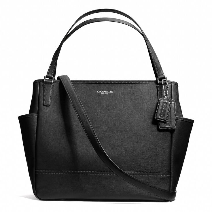 IN. LOVE. My perfect baby bag. Coach :: BABY BAG TOTE IN SAFFIANO LEATHER