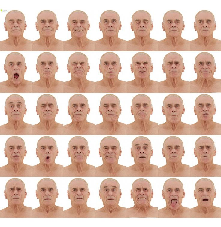 Male 01 36 x Expression Scan Bundle