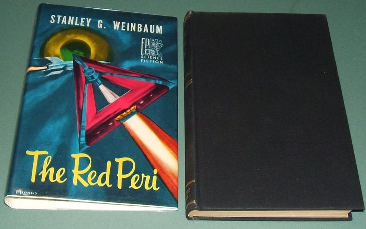 Limited First Edition in Dust Jacket of The Red Peri by Weinbaum , Fantasy Press