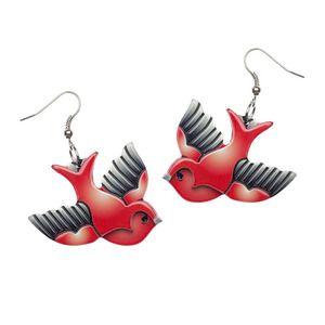 Candy Jo Sparrow Earrings - Erstwilder