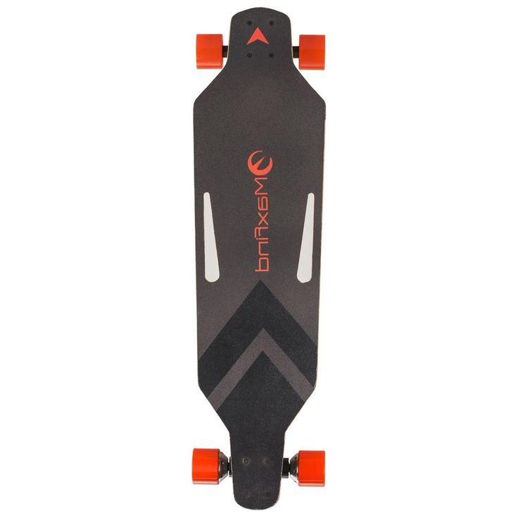 Wireless Remote Control Dual Motor Electric Skateboard Longboard Skate Board LOT #Maxfind