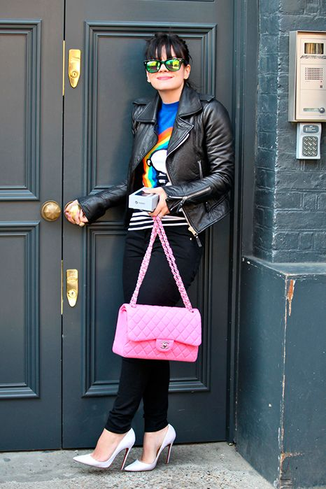 Lily Allen & Chanel Bags: Lucky Magazine
