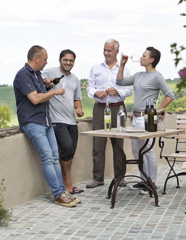 Weinverkostung in der Südsteiermak // Wine tasting in South Styri