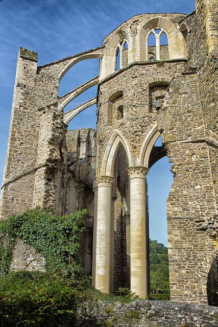 Notre Dame d'Hambye, Hambye, Gavray, Coutances, Manche, Basse-Normandie, France #Gothic #Abandoned #Abbey