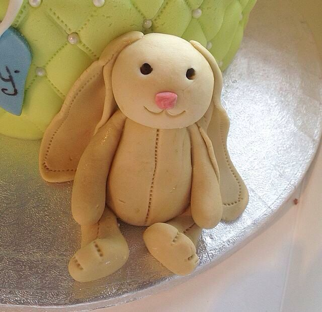 #JellyCat #Bunny #Rabbit #Cuddly #Toy #BabyShower #Cake