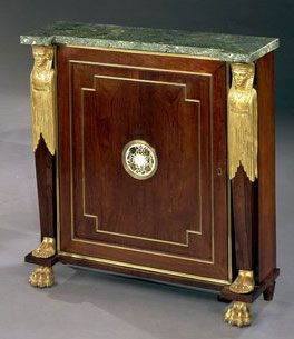 19th century  George IV was born in 1762. He acted as Prince Regent from 1811 to 1820. As king of Great Britain he died in 1830. The furniture style follows closely on from the neo-classical Georgian furniture style with a new interest in the heritage of Egyptian furniture.