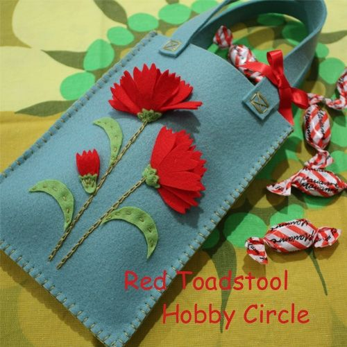 Carnation of gift back of How to make | bag | Fashion Accessories | Atelier | handicraft recipes 16,000! Handicraft and handmade works created by people, goods of how to make portal