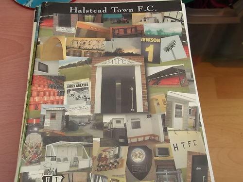 Halstead Town v King's Lynn Reserves 2002-3