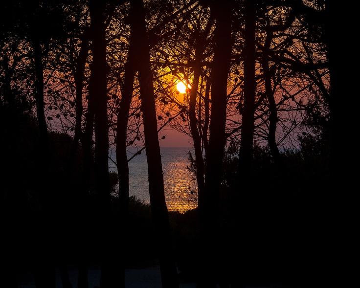 Sunset at Punta della Suina - Salento - Italy