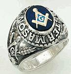 Sterling Silver Masonic Rings