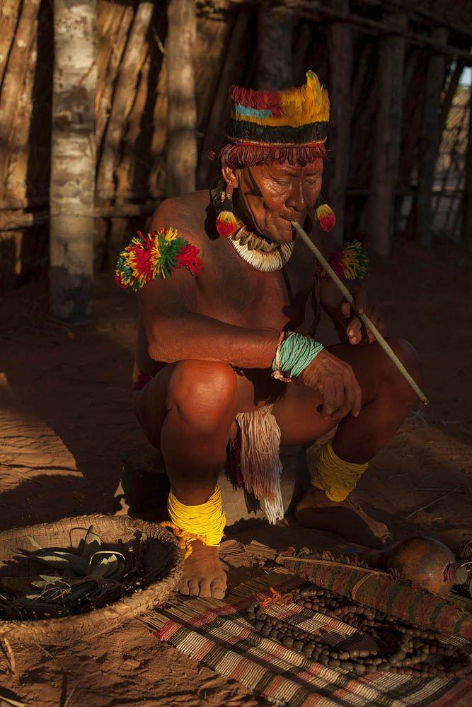 Etnia Waurá / Parque Indígena do Xingú. Brasil.