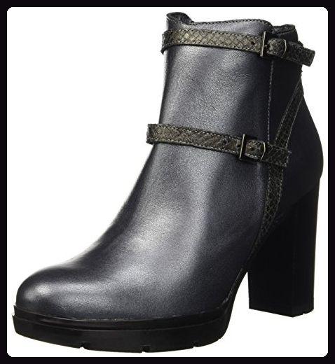 Manas Damen 162M4202PLIQ Desert Boots, Schwarz/Anthrazit, 37 EU - Stiefel für frauen (*Partner-Link)