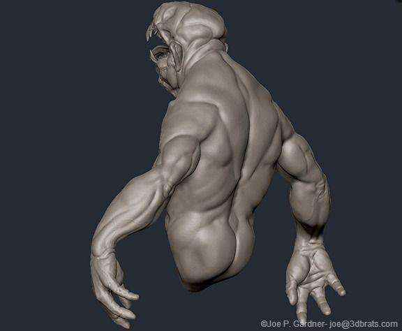For 3D printing. WIP - artist. Joe Perry
