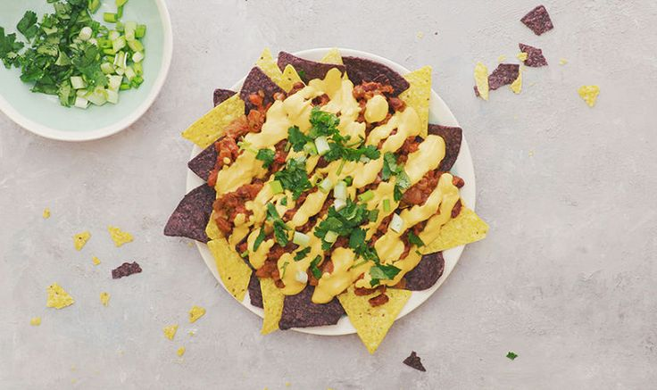 You Won't Believe These Chili Cheese Nachos Are Actually Meat- And Dairy-Free Hero Image
