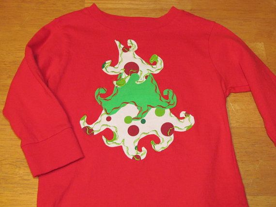 Ready made Whimsical Christmas Tree T Shirt