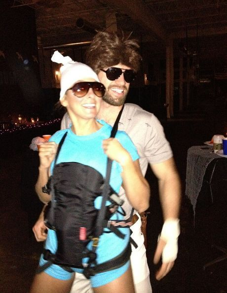 Allen and Carlos from the Hangover - LOVE THIS for a couples costume!