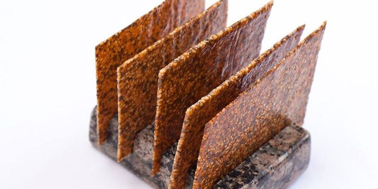 A sesame seed tuile by Shaun Rankin provides an eastern twist on classic French tuile flavourings