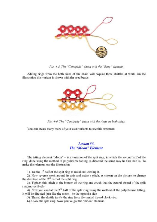 tatting instructions for beginners video