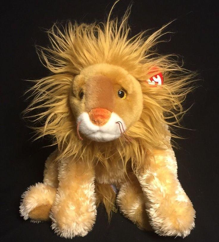 Ty Classic Kingly Lion 15 Quot Plush 2001 Mwt Stuffed Animal