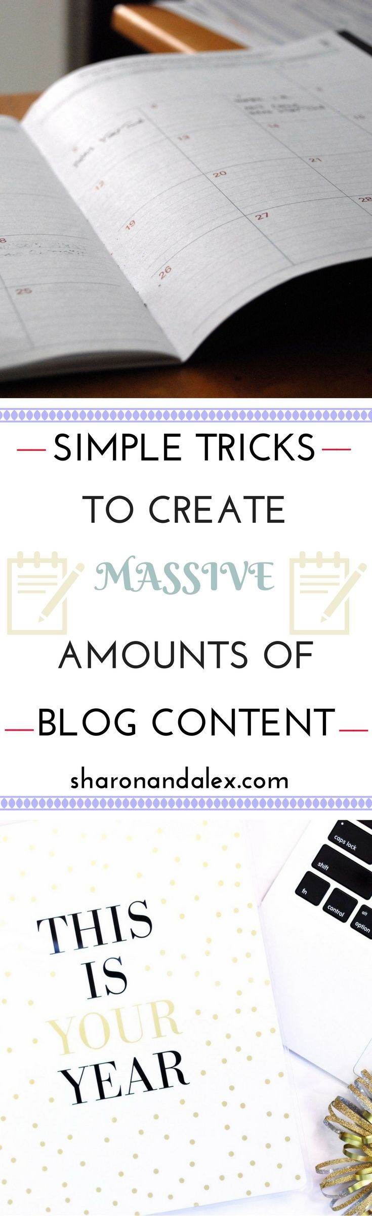 Planning blog posts is a lot of work. Wouldn't it be nice to have a stockpile of blog content just waiting for you to write about it? Here's how to do it! via @sharonandalex