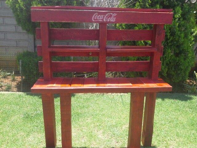 Coca - cola pallet shelve