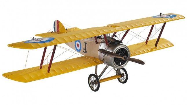 Miniatuur vliegtuig Sopwith Camel AP243