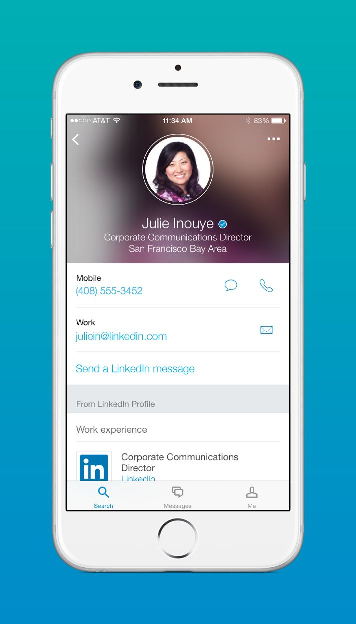Introducing LinkedIn Lookup: Easily Find, Learn About, and Contact Your Coworkers