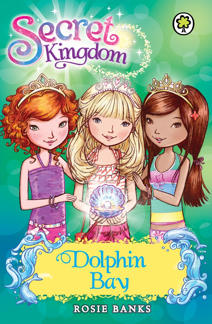 Secret Kingdom Special: Dolphin Bay  Written by Rosie Banks  Enter a magical world of friendship and fun!  Ellie, Summer and Jasmine are off for a summertime adventure of King Merry's royal yacht in Dolphin bay. They have a great time swimming with dolphins there, until Queen Malice shows up to ruin their fun. Can the girls break Queen Malice's horrible spells and save the dolphin celebrations?