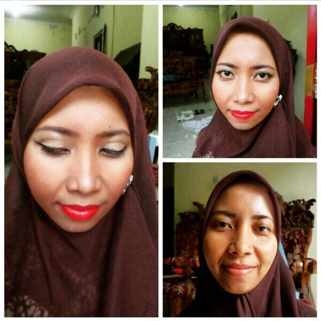 Simple red glam