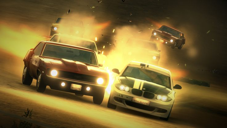 Blur Xbox Review Vehicular Chaos