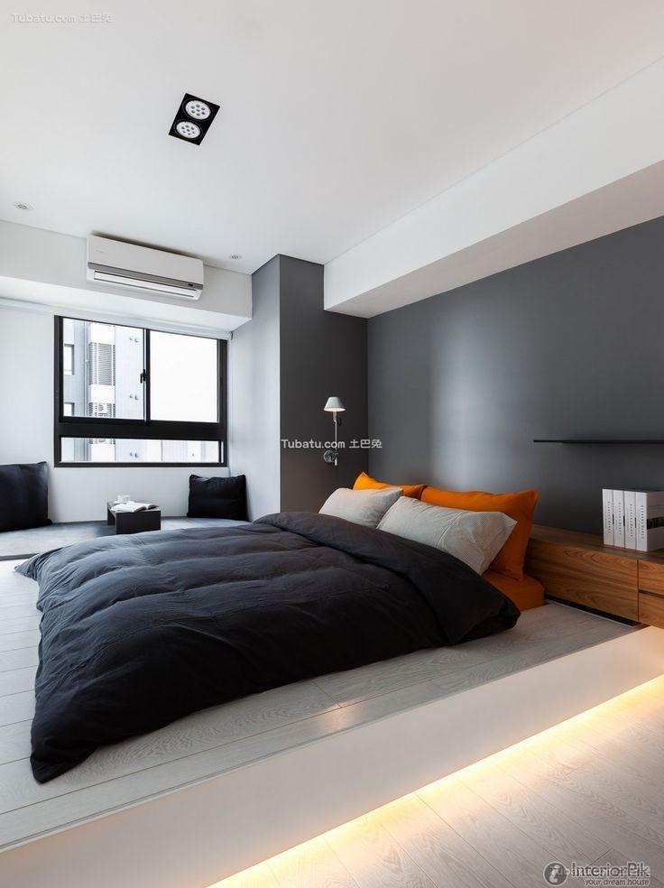 Modern minimalist bedroom design pictures 2015