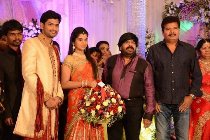 S. Shankar at Simbu Sister Marriage Reception