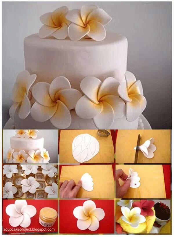 flores para pastel