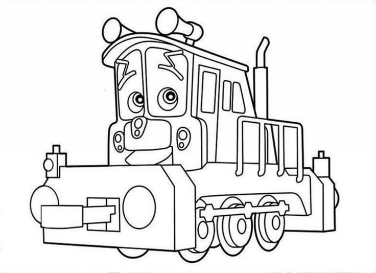 Printable Chuggington Coloring Pages Cartoon Of 9 Best Ready To Build FREE Printables And Activities Images On