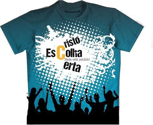 Promoção Camiseta gospel
