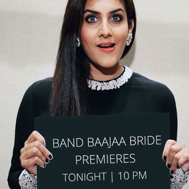 Here is to #Band Baaja Bride's 6 th season on #Ndtv. This madness has started from 23rd October, 2015!! Don't forget to watch my bride with me on the 30th of October!!! Just finished the shoot with my second bride of this season. An all night shoot. Will keep you guys updated for the airing of my second #BBB bride soon!!!