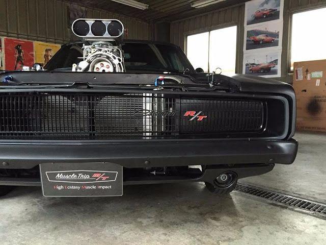 Cars Tuning Music: Dodge Charger RT 528 Blown HEMI 1968