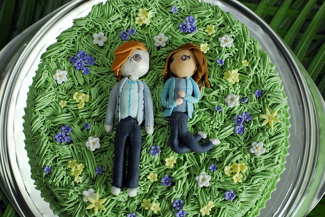 Edwards meadow - Twilight cake. How fun would this be for a Twilight party?