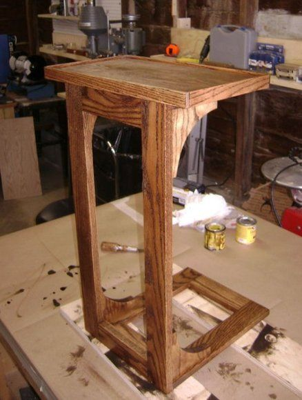 Cpap Bedside Table: Wood Working