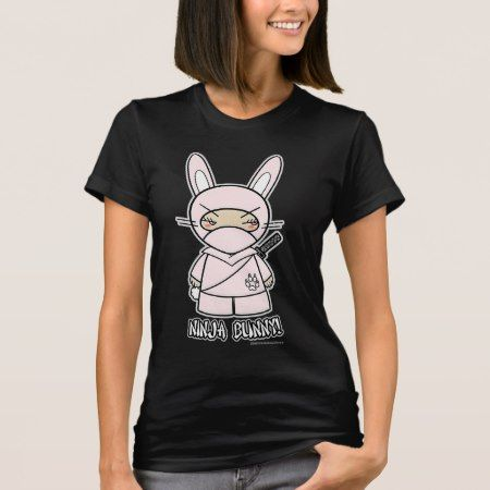 Ninja Bunny! T-shirt - click/tap to personalize and buy
