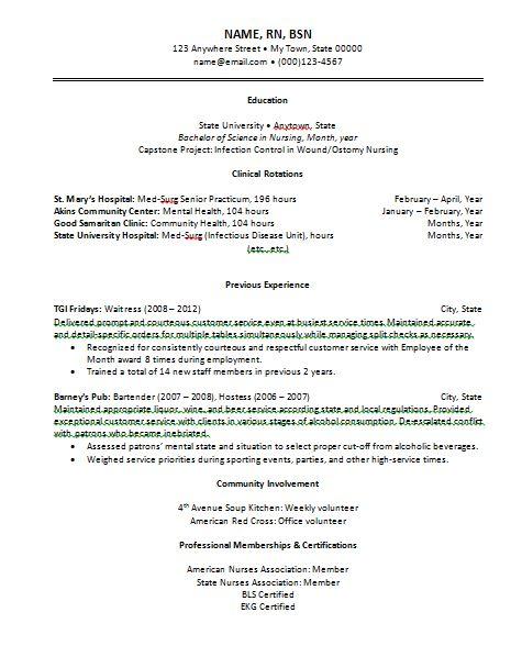 Best 25 Rn resume ideas on Pinterest  Student nurse jobs Nursing career and Nursing cv