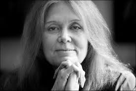 Gloria Steinham  Thank you, Gloria, for improving the lives of women in the US>