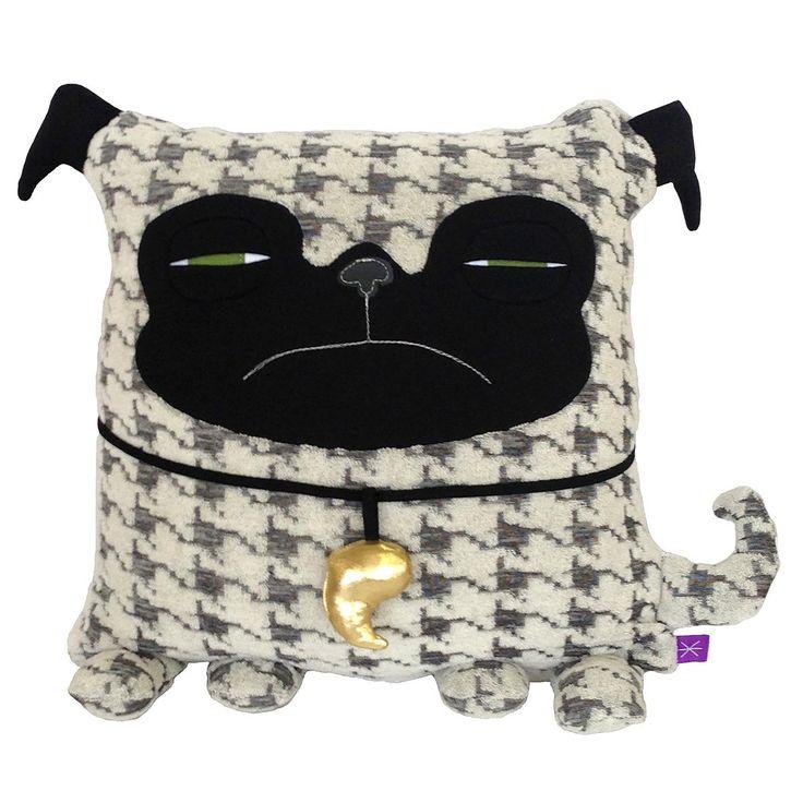 Fab.com   Pug Black White
