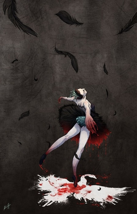 Black Swan by Kim Herbst